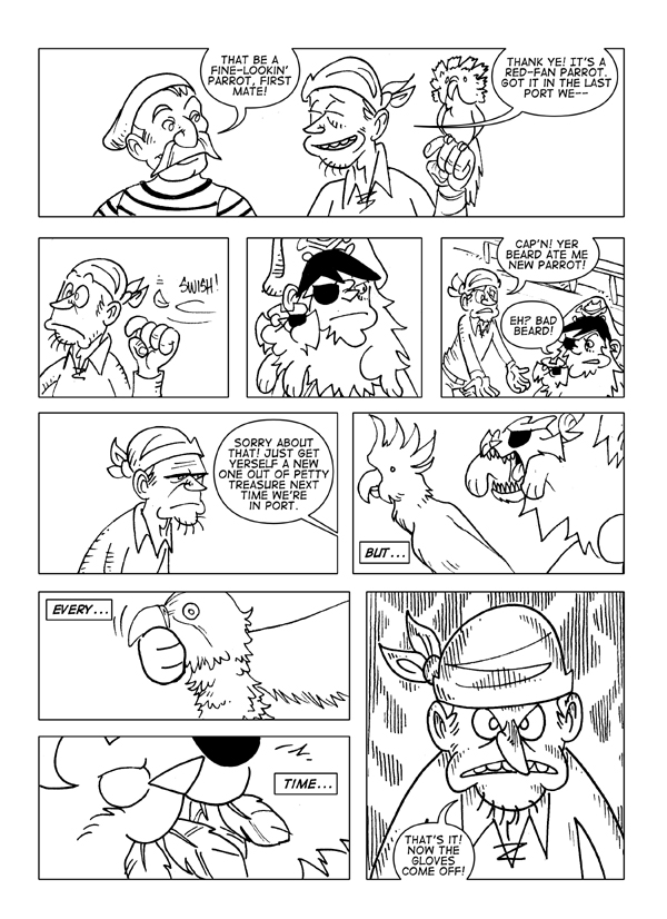 Watch the Birdie, Page 1 of 3