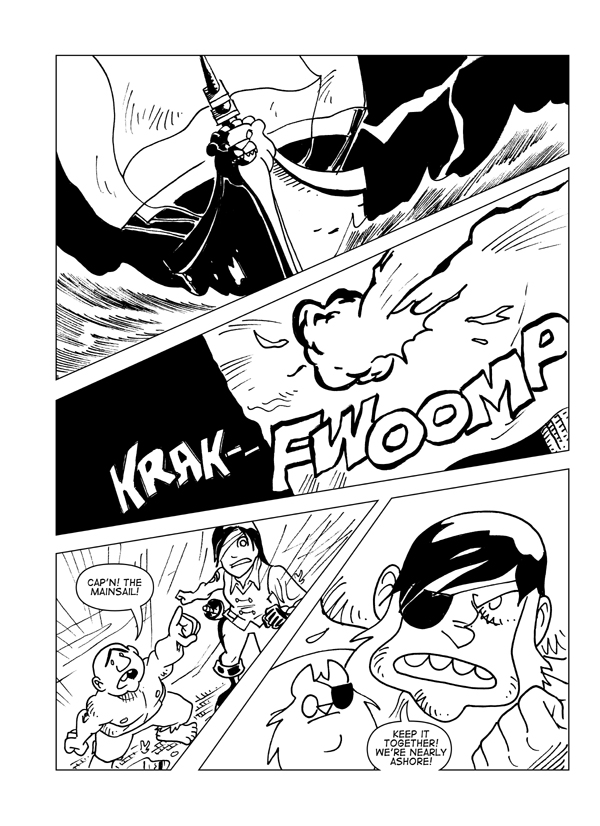 Claws And Effect, Page 3
