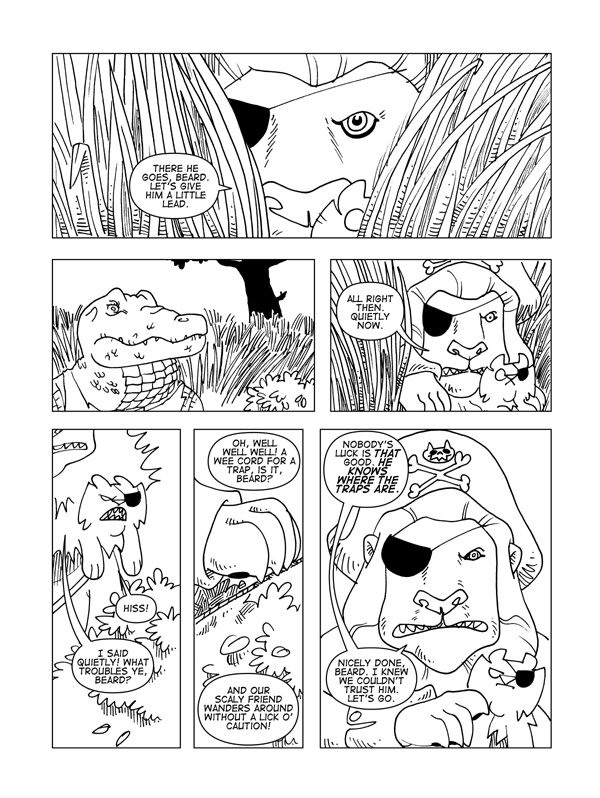 Claws And Effect, Page 20