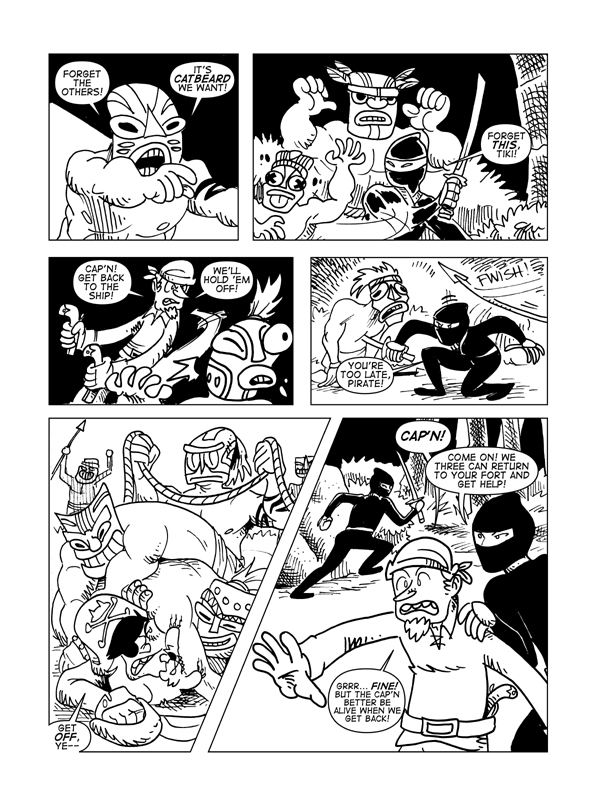 Rise Of The Tiki God, Page 11