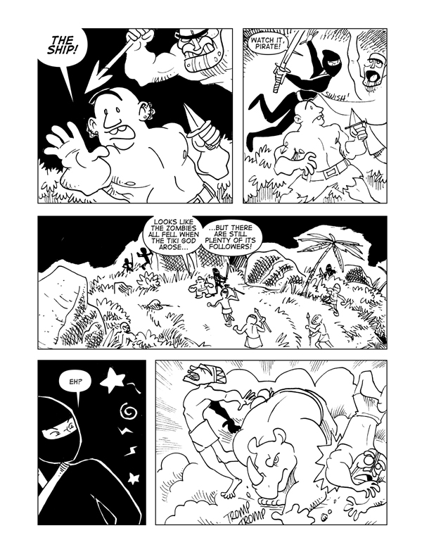 Rise Of The Tiki God, Page 28