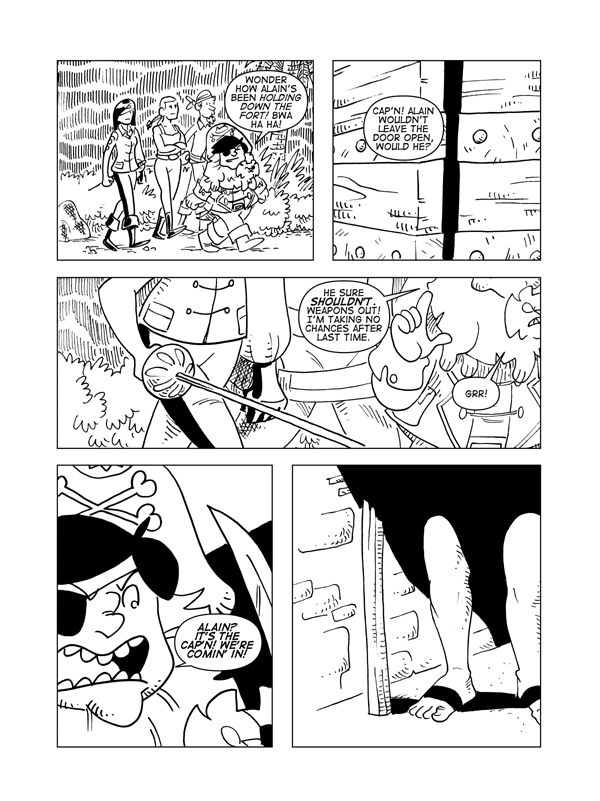 The Death Of Catbeard The Pirate, Page 3