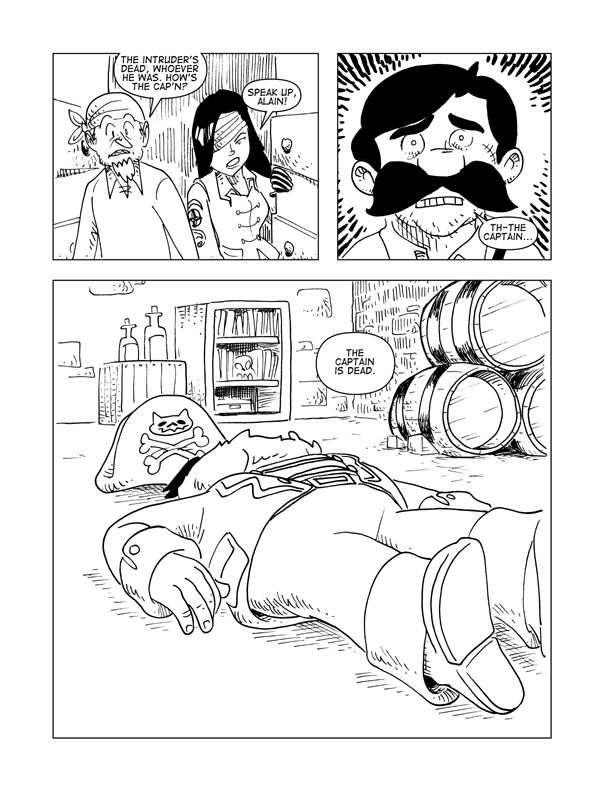 The Death Of Catbeard The Pirate, Page 8
