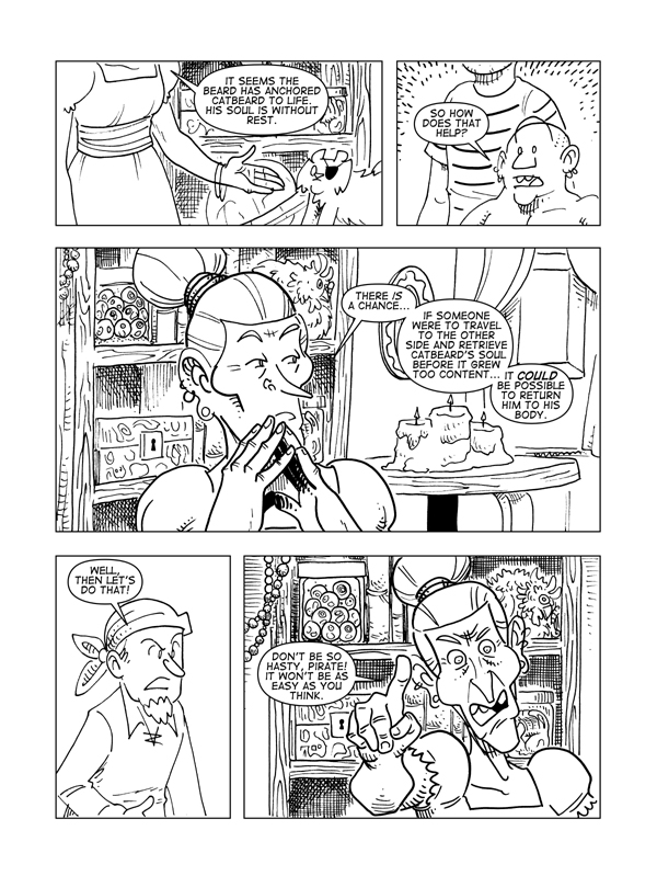 The Death Of Catbeard The Pirate, Page 20