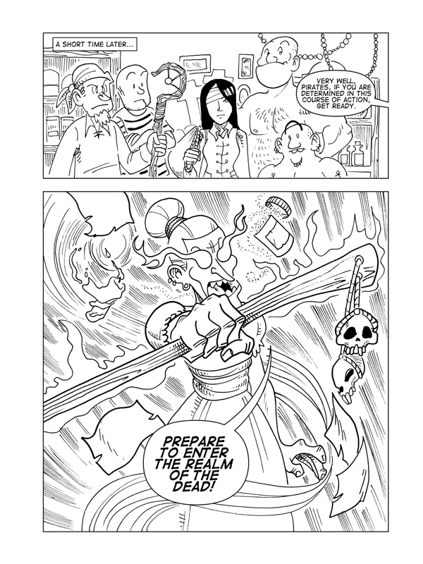 The Death Of Catbeard The Pirate, Page 22