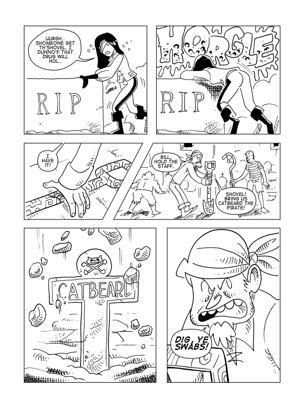 The Death Of Catbeard The Pirate, Page 35