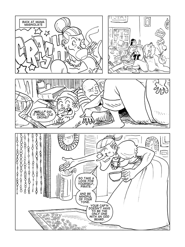 The Death Of Catbeard The Pirate, Page 41