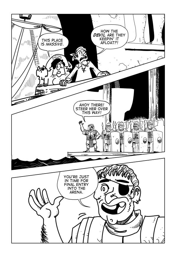 Swords & Sandals, Page 3