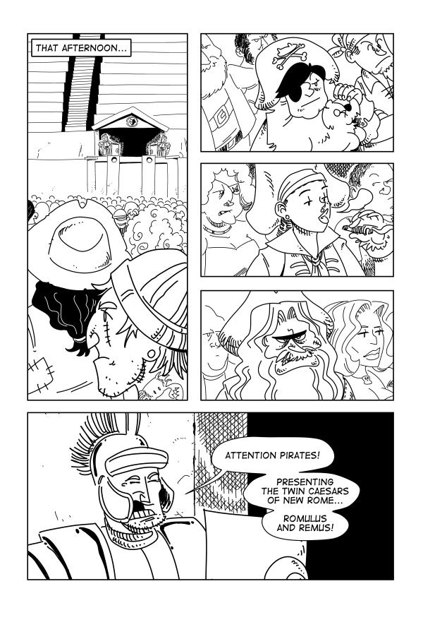 Swords & Sandals, Page 9