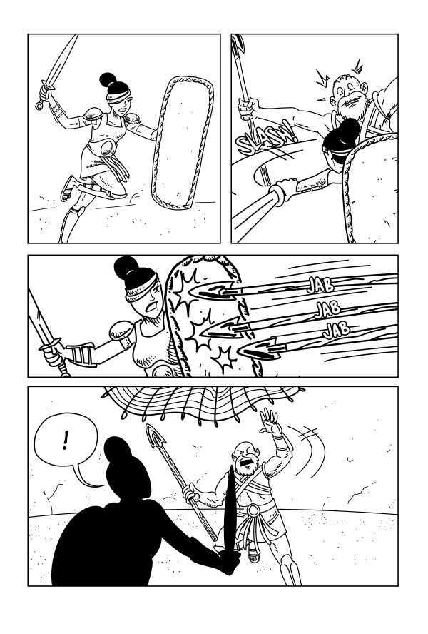 Swords & Sandals, Page 40