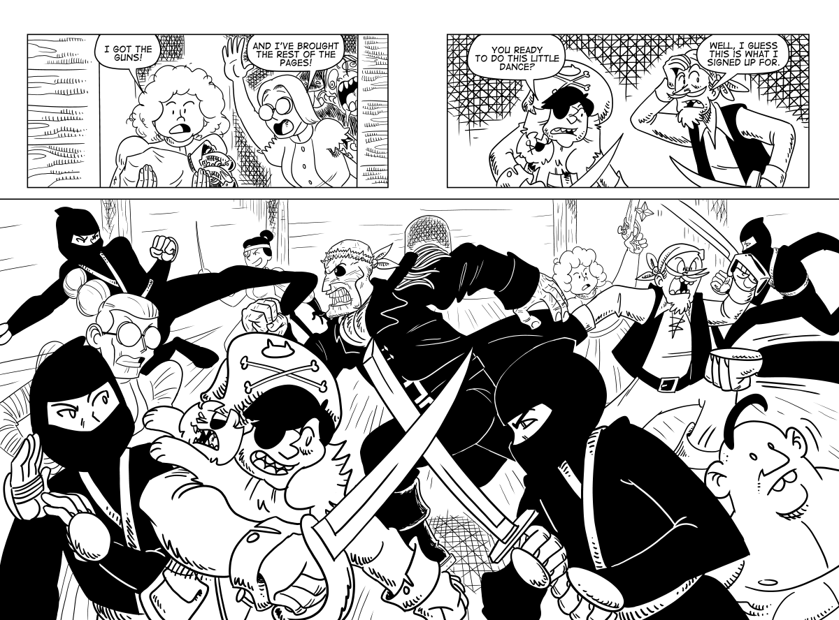 Attack The Stacks, Page 37 & 38