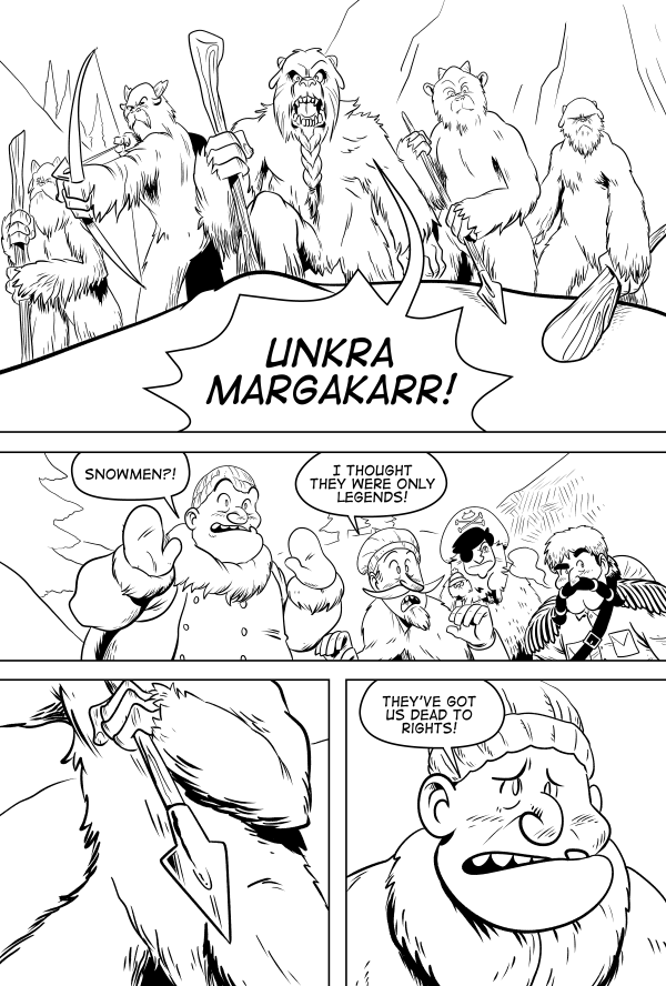 Yeti Or Not, Page 2