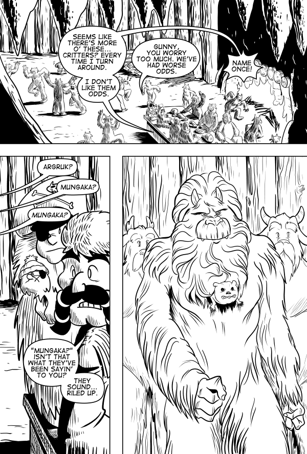 Yeti Or Not, Page 9
