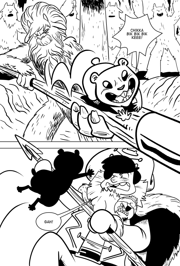 Yeti Or Not, Page 15