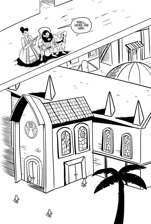 The Church Of The Holy Doubloon, Page 6